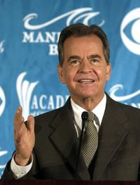 Dick Clark at the 39th Annual Academy of Country Music Awards.