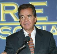 Dick Clark at the Hollywood Foreign Press Association press conference.
