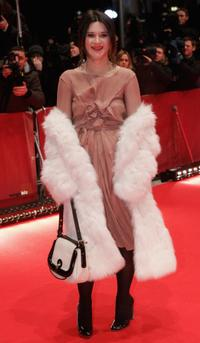 Valentina Cervi at the Opening Night of the 56th Berlin International Film Festival (Berlinale).