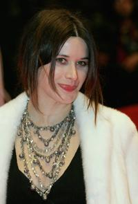 Valentina Cervi at the premiere of