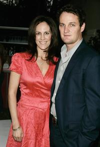 Annabeth Gish and Jason Clarke at the Showtime's 30th Anniversary and Summer 2006 TCA party.