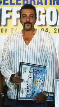 Sanjay Dutt at the 36th Annual International Film Festival of India (IFFI) 2005.