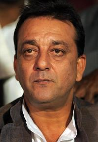 Sanjay Dutt at the press conference in New Delhi.