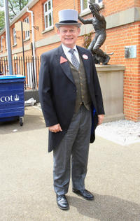 Martin Clunes at the day five of Royal Ascot in UK.