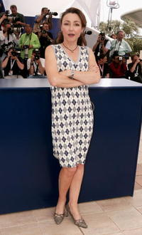 Catherine Frot at the photocall to promote