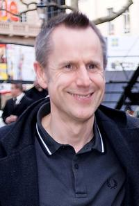 Jeremy Hardy at the premiere of