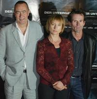 Bernd Eichinger, Corinna Harfouch and Ulrich Matthes at the photocall of