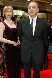 Corinna Harfouch and Bruno Ganz at the Berlin premiere of