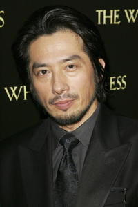 Hiroyuki Sanada at the London premiere of