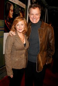 Stephen Collins and wife/actress Faye Grant at the world premiere of