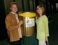 Stephen Collins and actress Sharon Lawrence at the kick off of 'Live Earth'.