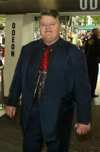 Robbie Coltrane at the UK Party of