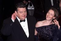 Robbie Coltrane at the premiere of the