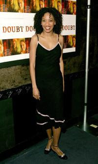 Adriane Lenox at the after party of the opening night of
