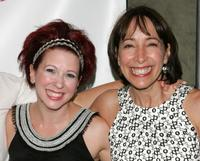 Kirsten Wyatt and Didi Conn at the after party of the opening night of