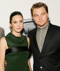 Jennifer Connelly and Leonardo DiCaprio at the screening of