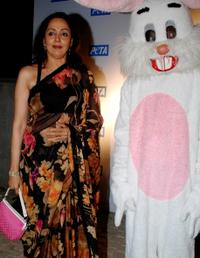 Hema Malini at the Asia's Sexiest Vegetarian Awards.