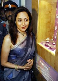 Hema Malini at the launch of