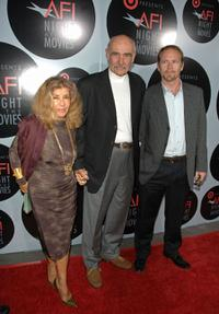Micheline Roquebrune, Sir Sean Connery and Jason Connery at the AFI's Night at Movies presented by Target.