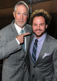 Oliver Muirhead and director Drake Doremus at the California premiere of