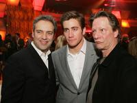 Chris Cooper, Sam Mendes and Jake Gyllenhaal at the afterparty for the premiere of