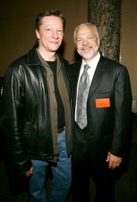 Chris Cooper and Sam Gores at the Paradigm breakfast held at the W Union Square during the 2007 Tribeca Film Festival.