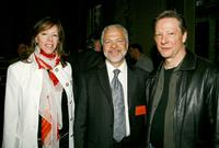 Chris Cooper, Jane Rosenthal and Sam Gores at the Paradigm breakfast held at the W Union Square during the 2007 Tribeca Film Festival.