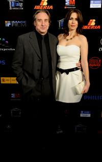 Juanjo Puigcorbe and Lola Marceli at the 15th Jose Maria Forque Cinema Awards.