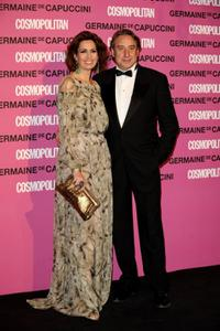 Lola Marcelli and Juanjo Puigcorbe at the 2008 Cosmopolitan Awards.