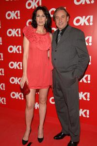 Lola Marcelli and Juanjo Puigcorbe at the OK! Magazine Spain launch party.