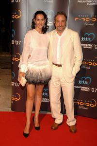 Lola Marcelli and Juanjo Puigcorbe at the Playing for Good VIP Party.
