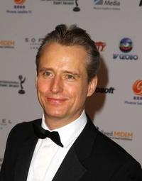 Linus Roache at the 36th Annual International Emmy Awards.
