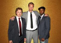 Sam Trammell, Alexander Skarsgard and Nelsan Ellis at the 25th Annual Television Critics Association Awards.