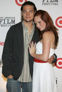 Gregory Smith and Candice Accola at the Los Angeles Film Festival's First Annual