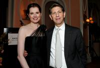 Peter Coyote and Geena Davis at the celebration honoring Geena Davis as this year's Hollywood Hero by USA Today.