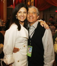 Wendy Crewson and director Michael Lembeck at the after party of the premiere of