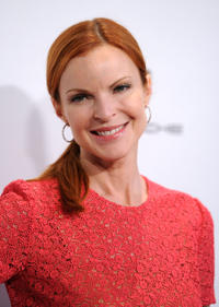 Marcia Cross at the 6th Annual Pink party in California.