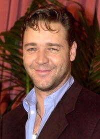 Russell Crowe at the 2001 Academy Awards nominees luncheon