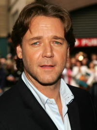 Russell Crowe at the premiere of