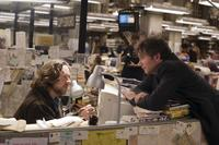 Russell Crowe and Director Kevin Macdonald on the set of