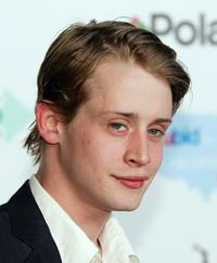 Macaulay Culkin at the launch of the ubid for Hurricane Relief charity auction.