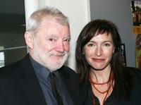 Max Cullen and Claudia Karvan at the 2005 AFI Awards Nomination announcement.