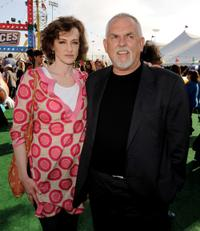 Joan Cusack and John Ratzenberger at the after party of the California premiere of