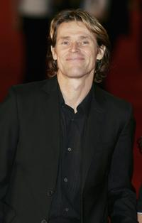 Willem Dafoe at the Rome Film Festival.