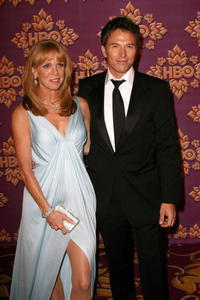 Tim Daly and wife Amy at the Emmy after party.