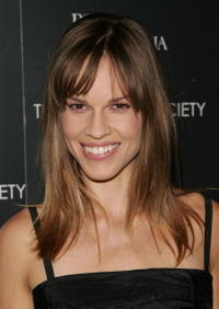 """Hilary Swank at a special screening of """"The Black Dahlia"""" in New York City."""