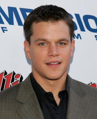 Actor Matt Damon at the L.A. premiere of