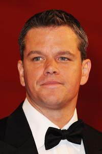 Matt Damon at the Italy premiere of