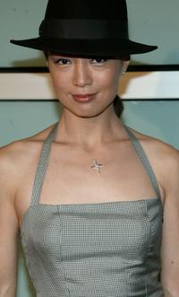 Ming Na Wen at the premiere of
