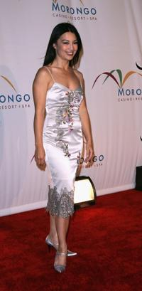 Ming Na Wen at the opening of the new Morongo Casino.